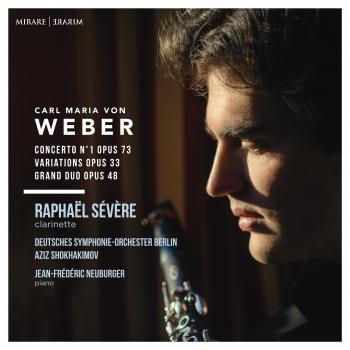 Cover Carl Maria von Weber: Concerto No. 1, Variations & Grand duo