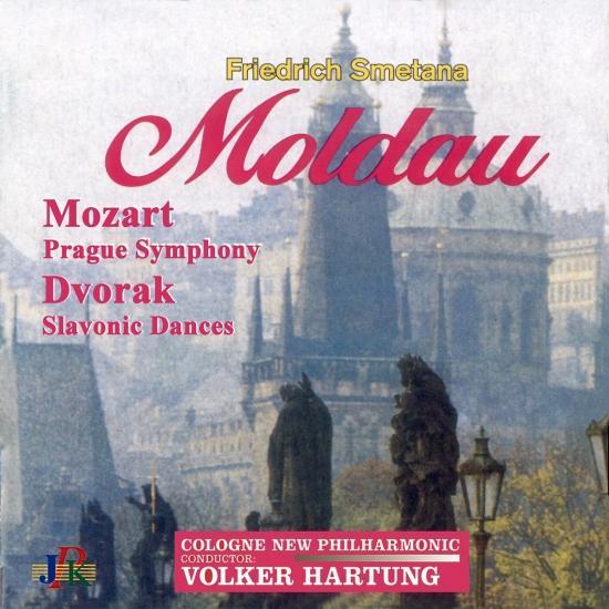 Cover Dvořák: Slavonic Dances - Smetana: The Moldau - Mozart: 'Prague' Symphony