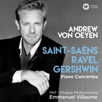 Cover Saint-Saëns, Ravel & Gershwin: Piano Concertos
