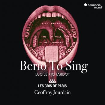 Cover Berio To Sing
