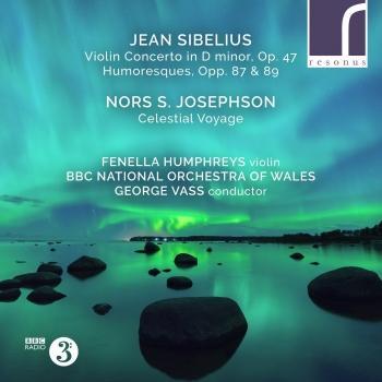 Cover Sibelius: Violin Concerto & Humoresques