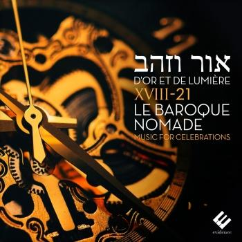 Cover D'or et de lumiere (Music for Celebrations)