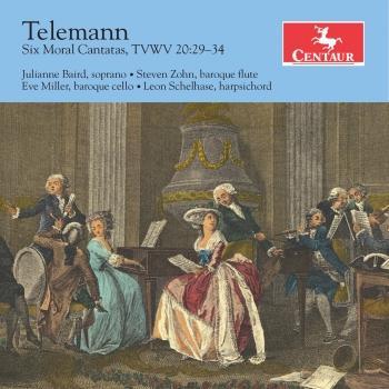 Cover Telemann: 6 Moral Cantatas, TWV 20:29-34