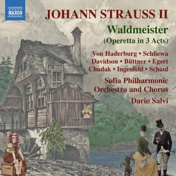 Cover J. Strauss II: Waldmeister