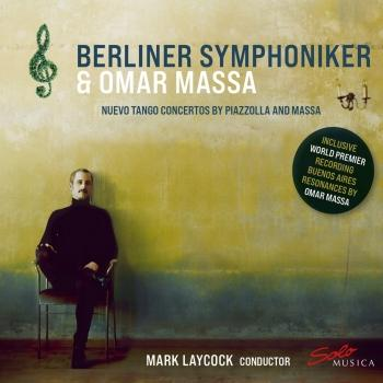 Cover Nuevo Tango Concertos by Piazzolla and Massa