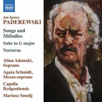Cover Paderewski: Songs and Mélodies - Suite in G Major