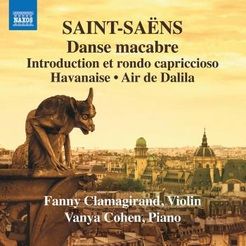 Cover Saint-Saëns: Music for Violin & Piano, Vol. 3