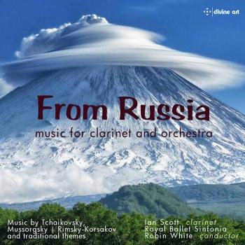 Cover From Russia: music for clarinet and piano