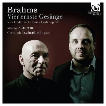 Cover Brahms: Vier ernste Gesänge
