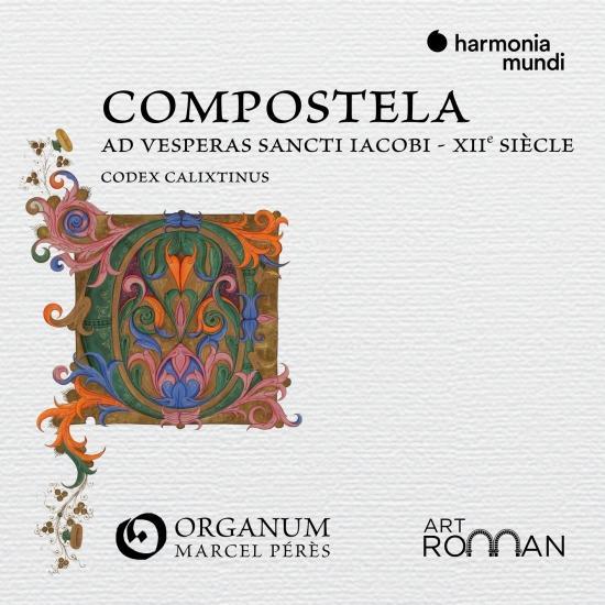 Cover Compostela 'Ad vesperas Sancti Iacobi'