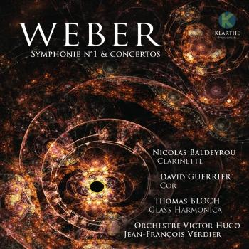 Cover Weber: Symphonie No. 1 & Concertos