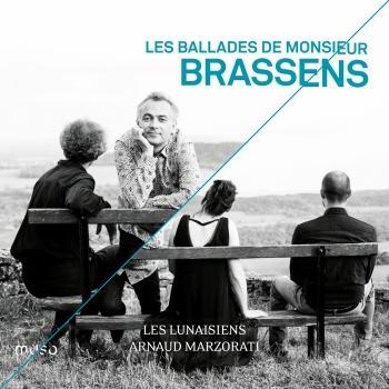 Cover Les ballades de Monsieur Brassens