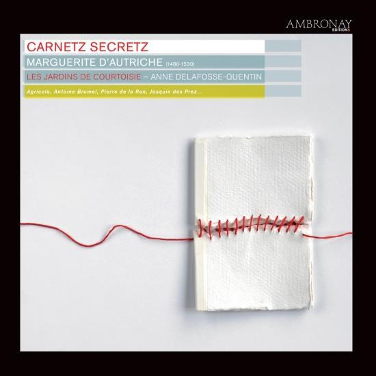 Cover Carnetz secretz (Marguerite d'Autriche)