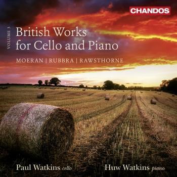 Cover British Works for Cello & Piano, Vol. 3
