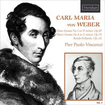 Cover Weber: Piano Sonatas