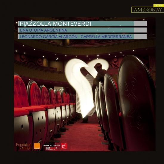Cover Piazzolla & Monteverdi: Una Utopía Argentina