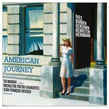 Cover American Journey: Bernstein / Barber / Herrmann / Gershwin / Ives