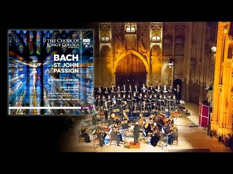 Video Bach: St John Passion (New Recording)