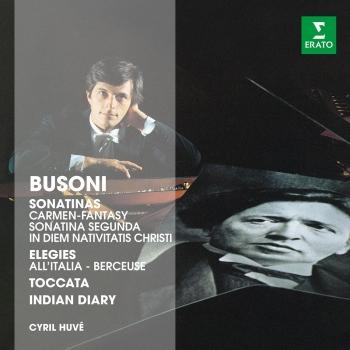 Cover Cyril Huvé plays Busoni