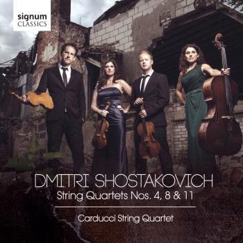 Cover Shostakovich: String Quartets Nos. 4, 8 & 11