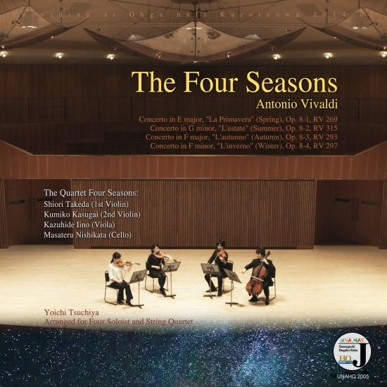 Cover The Four Seasons - Antonio Vivaldi