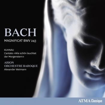 Cover Bach: Magnificat in D Major, BWV 243 - Kuhnau: Wie schön leuchtet der Morgenstern
