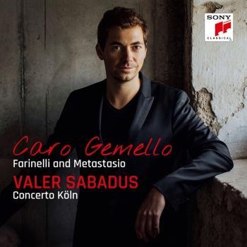 Cover Caro gemello - Farinelli and Metastasio