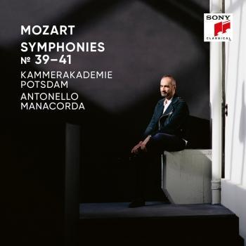 Cover Mozart Symphonies Nos. 39, 40, 41