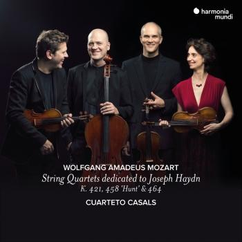 Cover Mozart: String Quartets dedicated to Joseph Haydn K. 421, 458 'Hunt', 464
