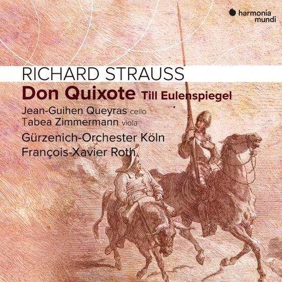 Cover Richard Strauss: Don Quixote. Till Eulenspiegel