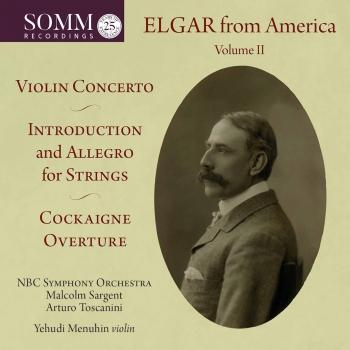 Cover Elgar from America, Vol. 2