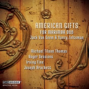 Cover American Gifts for Marimba Duo