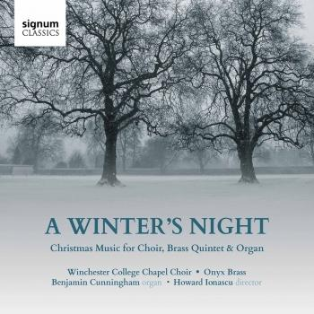 Cover A Winter's Night: Christmas Music for Choir, Brass Quintet & Organ