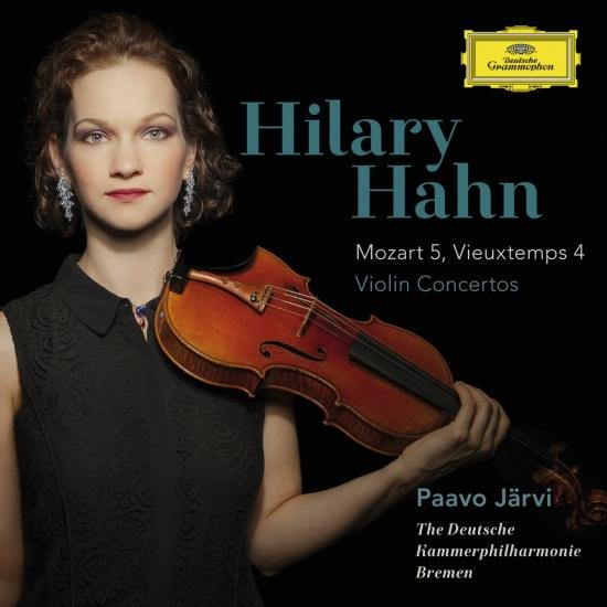 Cover Mozart: Violin Concerto No.5 In A, K.219 / Vieuxtemps: Violin Concerto No.4 In D Minor, Op.31