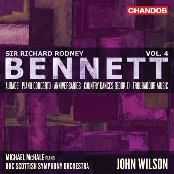 Cover Bennett: Orchestral Works, Vol. 4