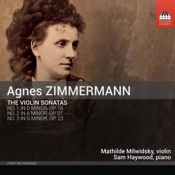 Cover Zimmermann: Violin Sonatas Nos. 1-3