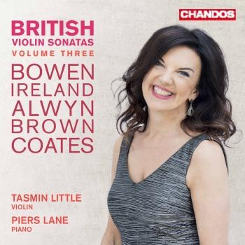 Cover British Violin Sonatas, Vol. 3