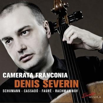 Cover Schumann, Cassadó, Fauré & Rachmaninoff: Works for Cello