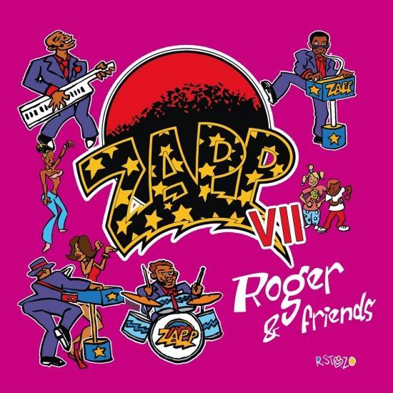 Cover Zapp VII - Roger & Friends