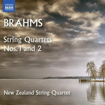 Cover Brahms: String Quartets Nos. 1 & 2