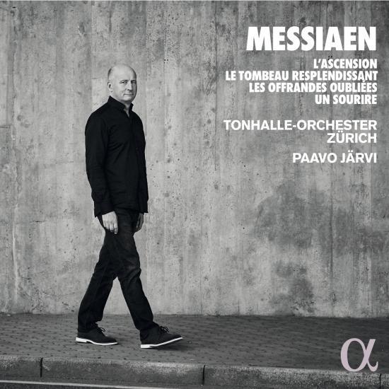 Cover Messiaen: L'Ascension, Le Tombeau resplendissant, Les Offrandes oubliées, Un sourire