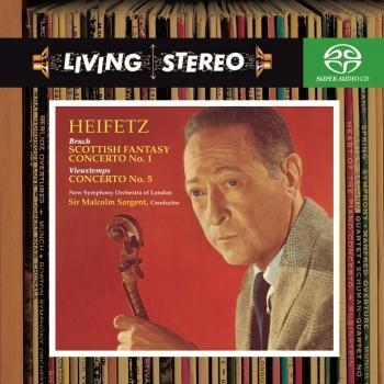 Cover Bruch: Violin Concerto No. 1, Scottish Fantasy - Vieuxtemps: Violin Concerto No. 5