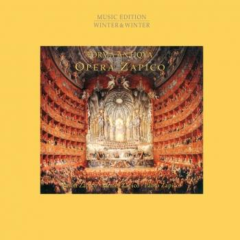 Cover Opera Zapico - Opera Music from Monteverdi to Mozart