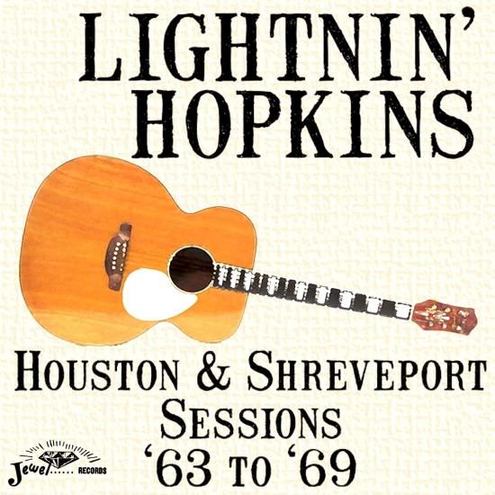 Cover Houston & Shreveport Sessions '63 to '69 (Remastered)