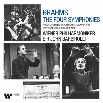 Cover Brahms: Symphonies, Tragic Overture, Academic Festival Overture & Variations on a Theme by Haydn (Remastered)