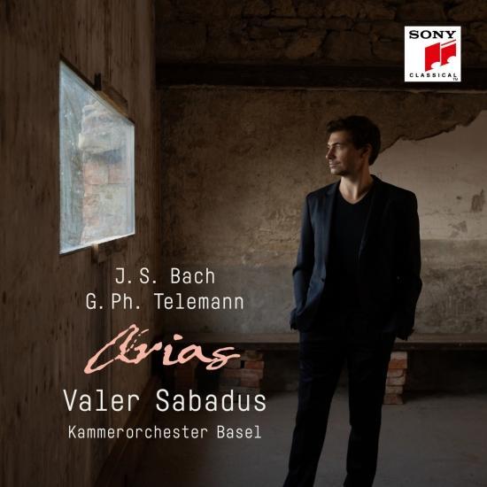 Cover Bach & Telemann: Arias