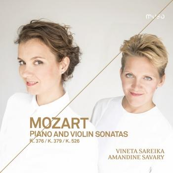 Cover Mozart: Piano and Violin Sonatas, K. 376, K. 379 & K. 526