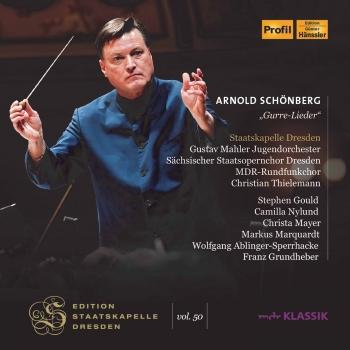 Cover Schoenberg: Gurre-Lieder (Live at Semperoper, Dresden)