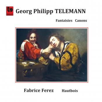Cover Telemann: Fantasia & Canon for Oboe Solo