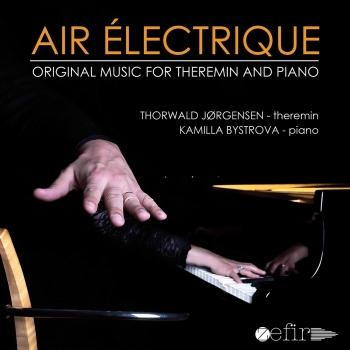 Cover Air électrique: Original Music for Theremin & Piano